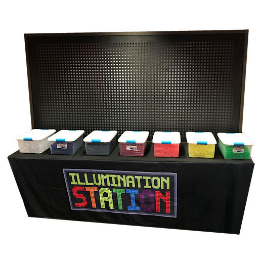Giant Light Bright Illumination Station Party Interactive Giant Game Rental Detroit Michigan