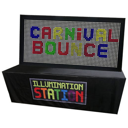 Giant Light Bright Illumination Station Party Interactive Giant Game Rental Michigan