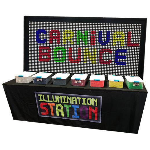 Giant Light Bright Illumination Station Party Interactive Giant LightBright Game Rental Michigan