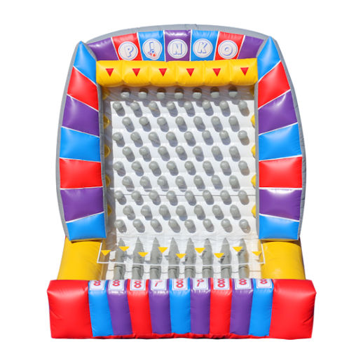 Giant Plinko interactive inflatable rental michigan