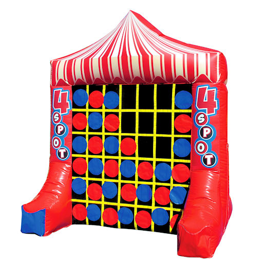 Giant connect four 4 spot inflatable carnival game rental michigan