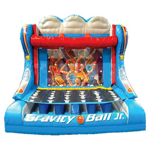Gravity Ball Jr basketball Interactive inflatable carnival game bounce house moonwalk party rental michigan