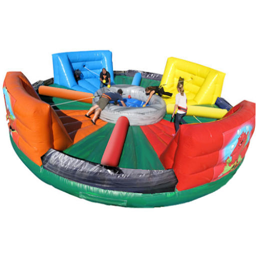 Hippo Chow Down Giant Interactive Inflatable Party Rental Michigan