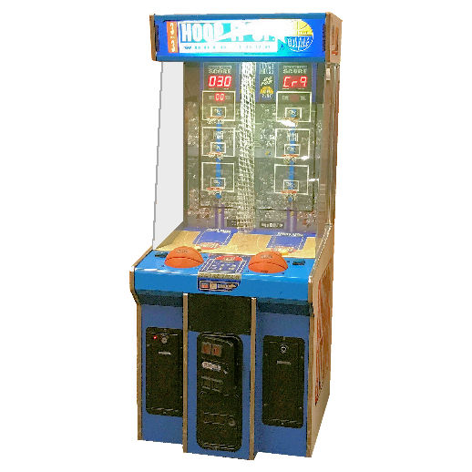 Hoop It Up Basketball Arcade Game Rental Michigan