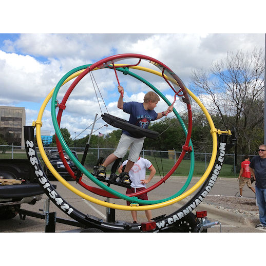 Human gyroscope rental michigan