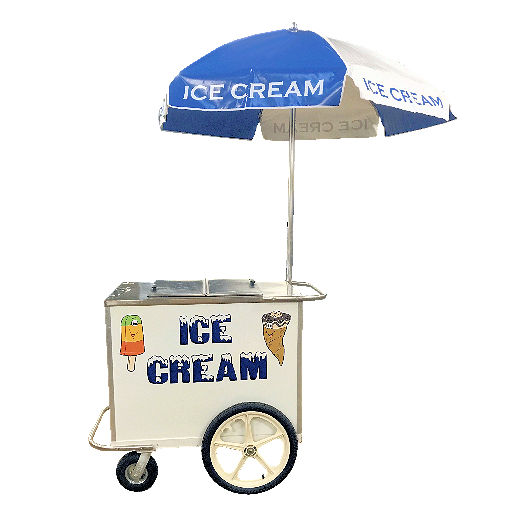 Ice Cream Cart Lg. Party Rental Concession Machine Rentals Michigan