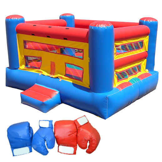 Inflatable Bouncy Boxing Interactive Bounce House Rental Michigan