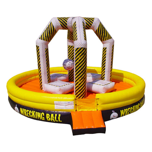 wrecking ball inflatable Game Rental Michigan