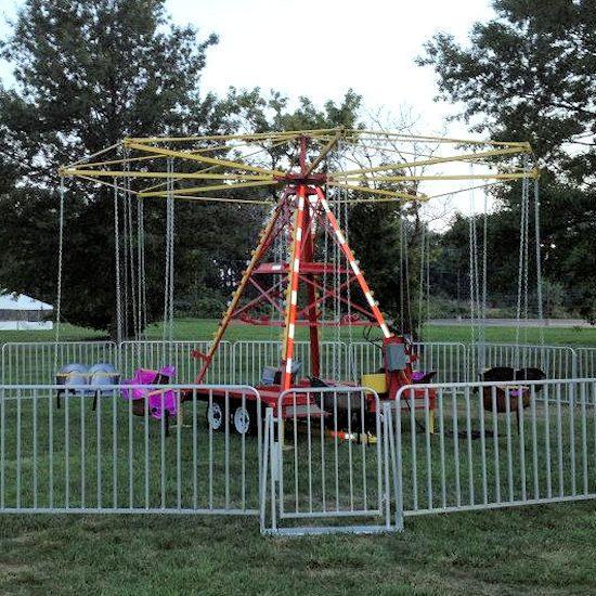 Intermediate Swing Carnival Ride rental michigan