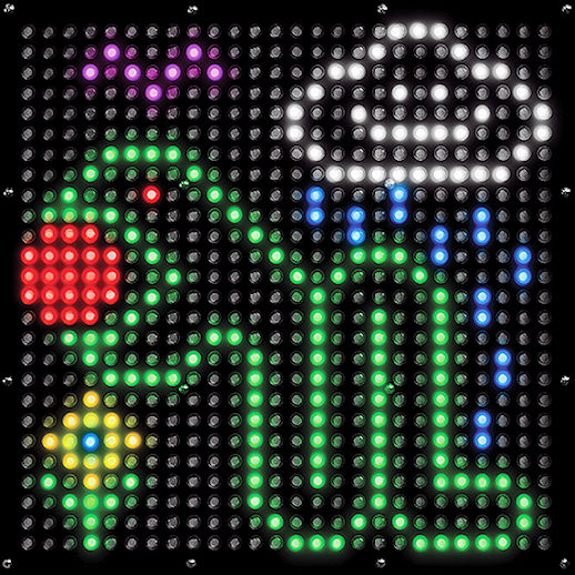 Pixel Play giant LED light brite Arcade carnival game party rental michigan