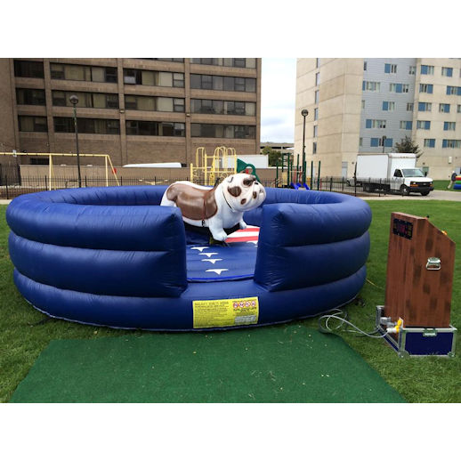 Mechanical Bull Dog carnival ride Rental Detroit Michigan