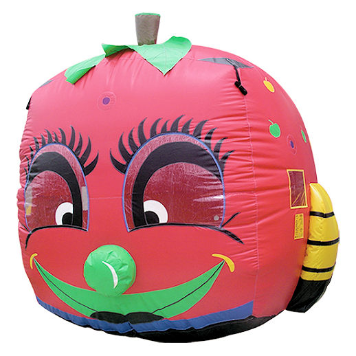 Millennium Apple Balloon Typhoon carnival game michigan inflatable rental