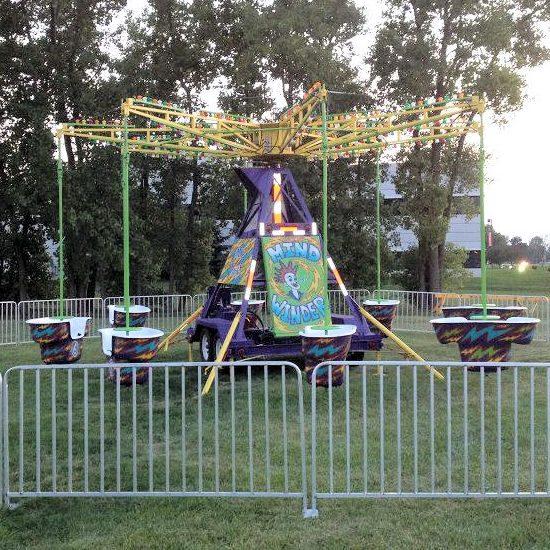 Mindwinder Carnival Ride rental michigan