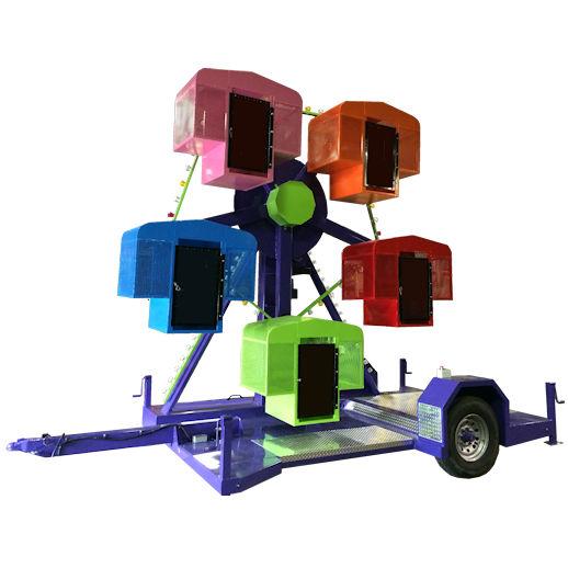 Mini Kiddie Ferris Wheel carnival ride rental michigan