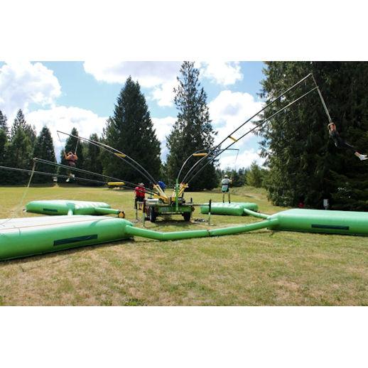 Monkey Motion Bungee trampoline rental detroit michigan