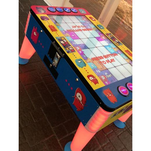 Monster Smash LED Arcade Game Rental Michigan