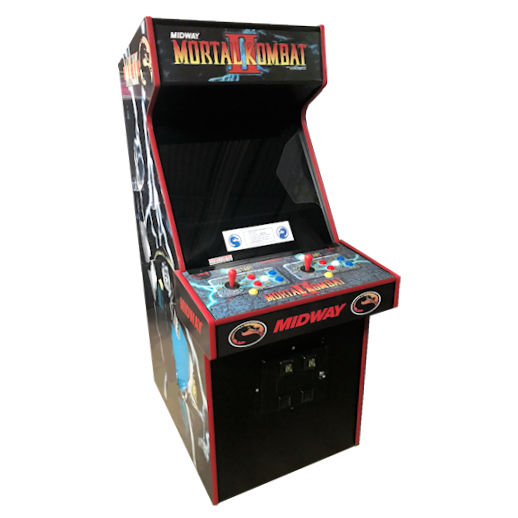 Mortal Kombat 1 2 3 4 Kollection arcade game rental michigan