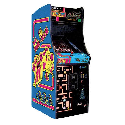 Ms Pac-Man Pac Man Galaga 20th Anniversary Reunion Edition Classic Arcade Game Rental Michigan