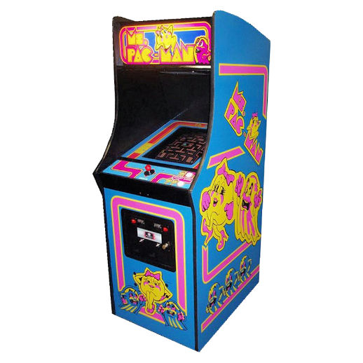 Ms Pac Man Classic Arcade Game Rental Michigan