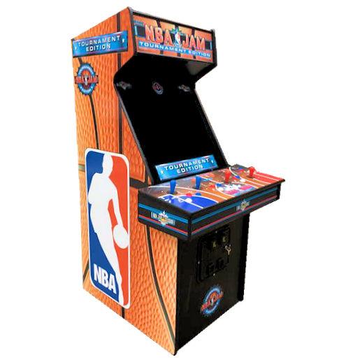 NBA Jam Tournament Edition Basketball Arcade Game Rental Michigan