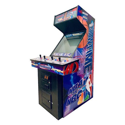 NFL Blitz 2000 - NBA Showtime arcade game rental michigan