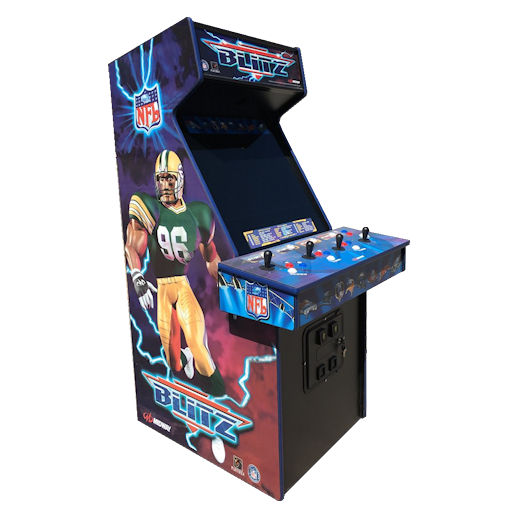 NFL Blitz Football Arcade Game Rental Michigan