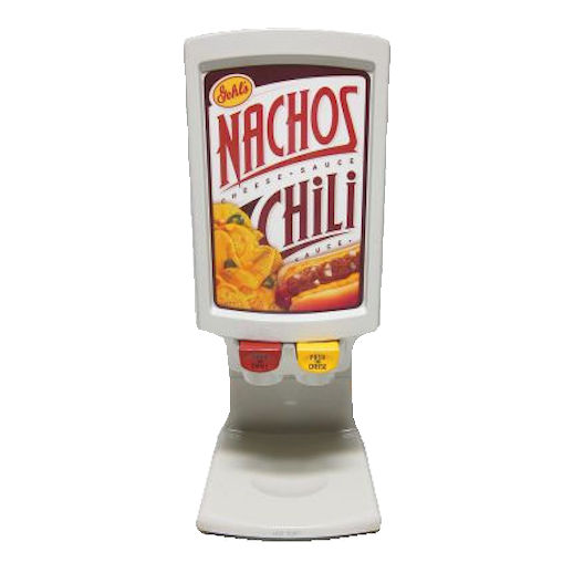 Nacho Cheese Chilli dual dispenser concession rental michigan