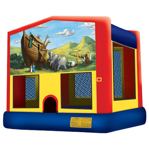Noahs Ark inflatable bounce house moonwalk party rental michigan