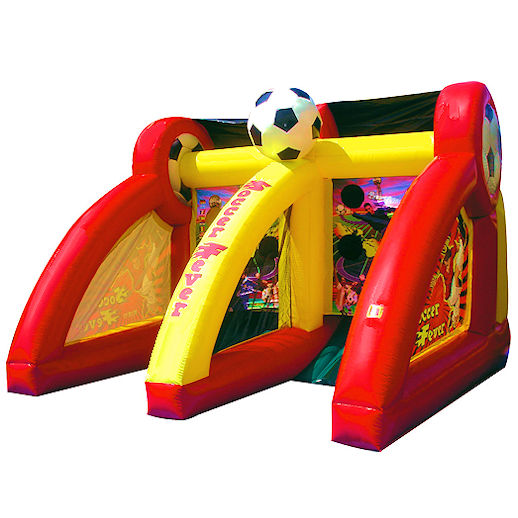 PK Soccer Fever sports interactive inflatable party rental michigan