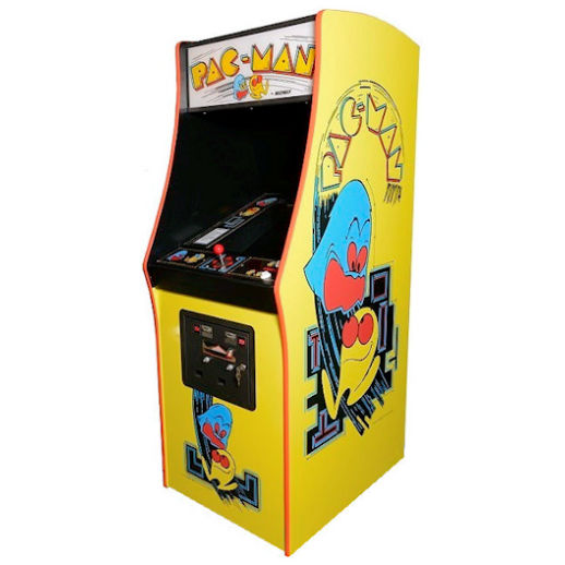 Pac Man Arcade Classic Game Rental Michigan
