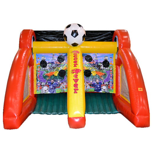 Penalty Kick Soccer Fever sports interactive inflatable party rental michigan