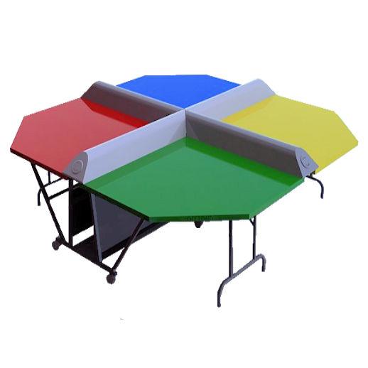 Ping Pong Poly Pong Table Tennis Rental Michigan