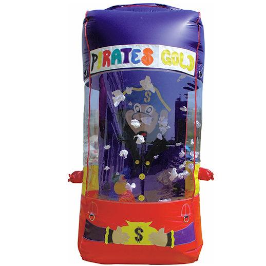 Pirates Gold money grab machine carnival game rental michigan