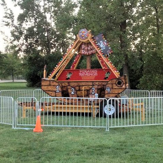 Pirates Revenge Carnival Ride rental michigan