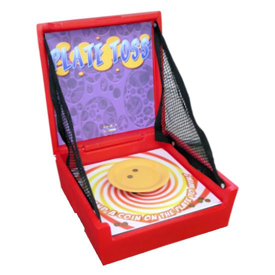 Plate Toss Carnival Game