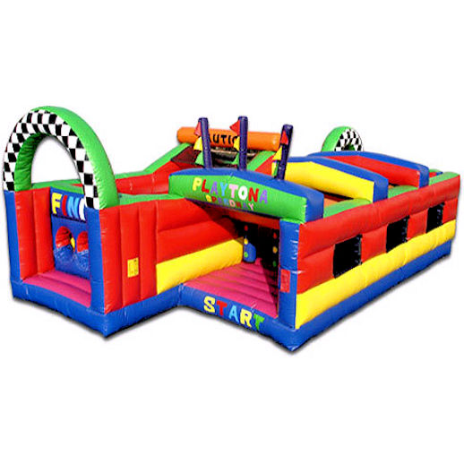 Playtona Toddler Obstacle Course inflatable party rental in michigan