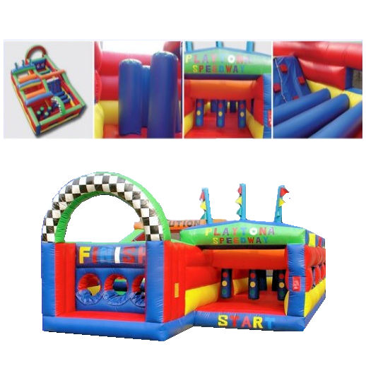 Playtona Toddler Obstacle Course inflatable party rental michigan