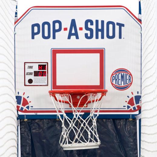 Pop A Shot Electronic Single Basketball Arcade game rental in Michigan