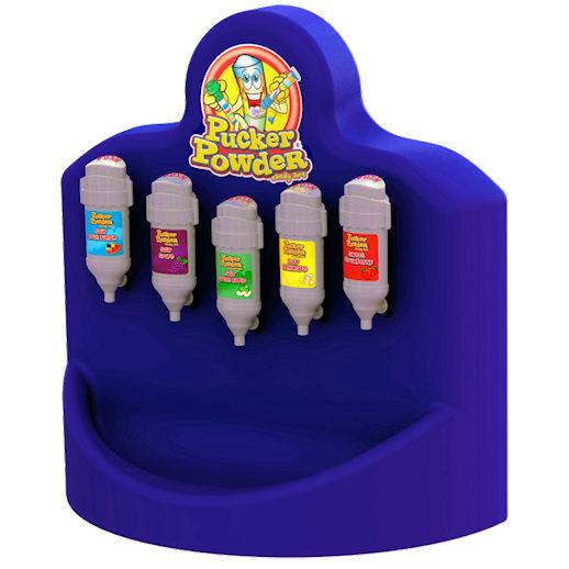 Pucker Powder mini 5 flavor machine blue concession party rental mchigan