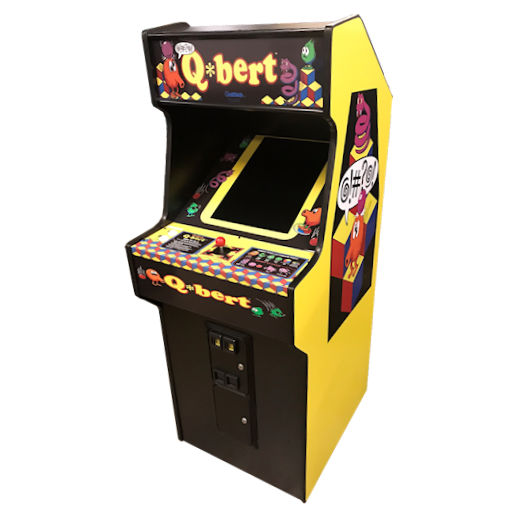 QBert Classic 80s Arcade Game Rental Michigan