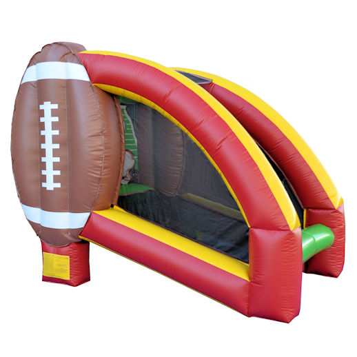 Quarterback Challenge Single Football Throw interactive inflatable game rental michigan