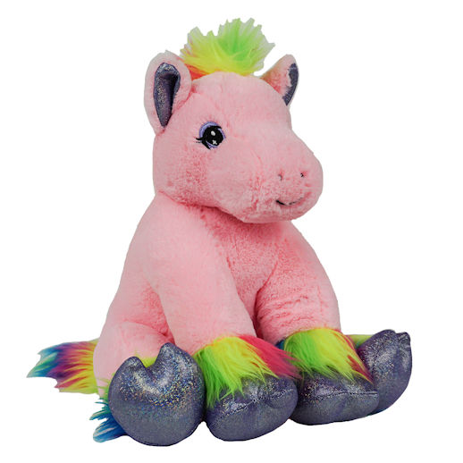 Rainbow Pony stuffed animal build a bear party rental michigan