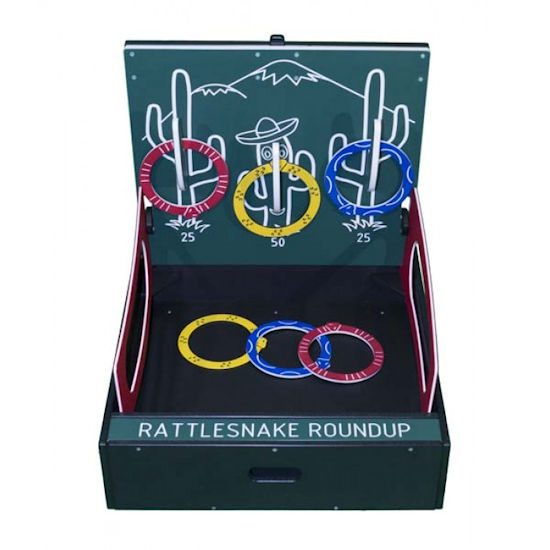 Rattle Snake Roundup Carnival Game