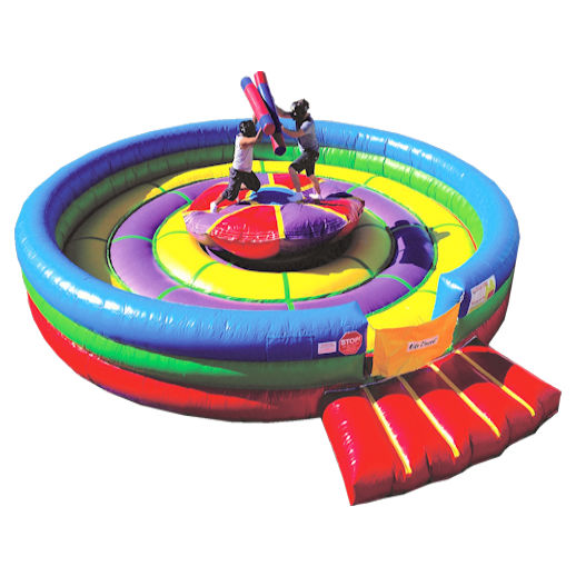 Rock N Joust Interactive Inflatable Moonwalk Bounce house rental Michigan