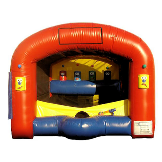Shooting Gallery Interactive inflatable carnival game bounce house moonwalk party rental michigan