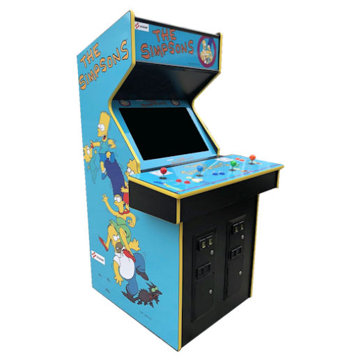 The Simpsons Arcade Game Rental Michigan