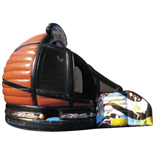Slam N Jam Basketball inflatable interactive Slam Dunk game party rental michigan