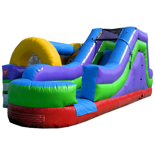 Slip and slide water slide combo inflatable party rental michigan