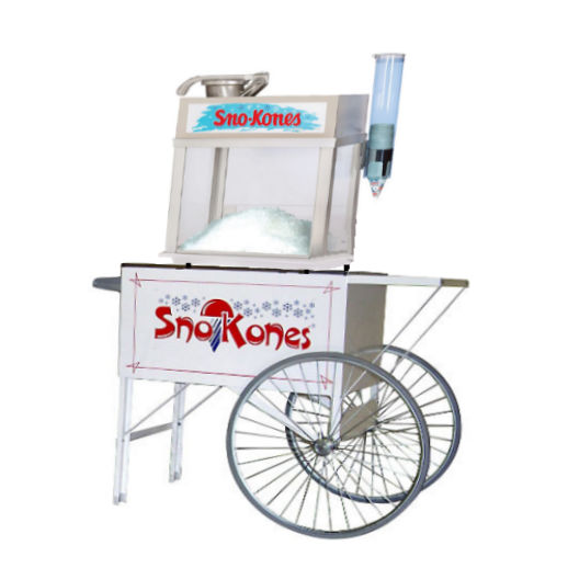 Snow Cone Cart concession rental michigan