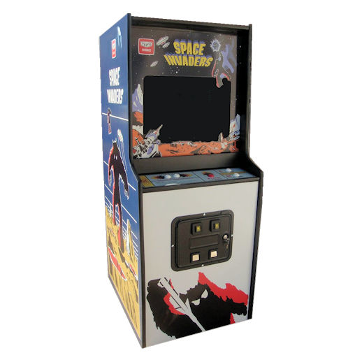 Space Invaders Classic Arcade Game Rental MIchigan